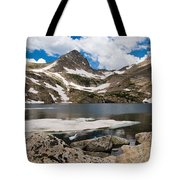Blue Lake Colorado Tote Bag
