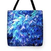 Blue Autumn  Tote Bag