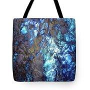 Blue Lightation Tote Bag