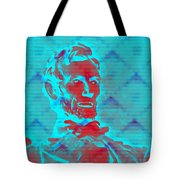 Blue Lincoln Tote Bag