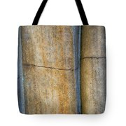 Blue Lines Abstract Tote Bag