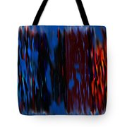 Blue Liquid Tote Bag