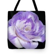 Blue Lisianthus Layered Loveliness II  Tote Bag