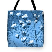 Blue Magnolia Tote Bag