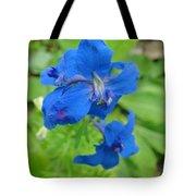 Blue Majestu Tote Bag