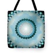 Blue Mandala 5 Tote Bag