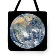 Blue Marble 2012 - Eastern Hemisphere Of Earth Tote Bag