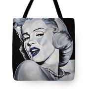 Blue Marilyn  Tote Bag