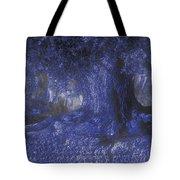 Blue Memories Tote Bag