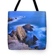 Blue Mermaid Reef At Sunset Tote Bag