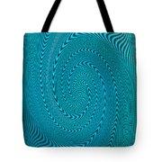 Blue Metal Spca Tote Bag