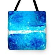 Blue Modern Art - Two Pools - Sharon Cummings Tote Bag