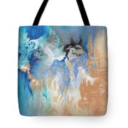 Blue Monday Tote Bag