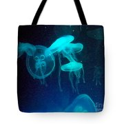 Blue Monsters Tote Bag