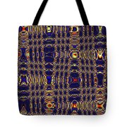 Blue Moon Abstract Tote Bag