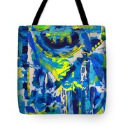 Blue Moon City Tote Bag