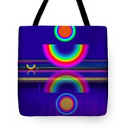 Blue Moon Reflections Tote Bag