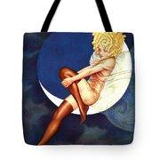 Blue Moon Silk Stockings Tote Bag