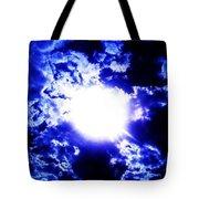 Blue Moon Smoke Tote Bag