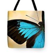 Blue Morpho Closeup Tote Bag