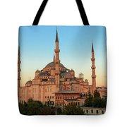 Blue Mosque Blue Hour Tote Bag