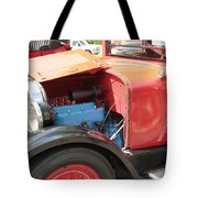 Blue Motor Tote Bag
