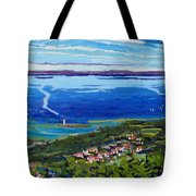Blue Mountain Blues Tote Bag