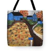 Blue Mountain Farm Tote Bag