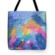 Blue Mountain Mayhem Tote Bag