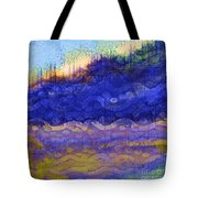 Blue Mountain River Tote Bag
