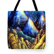 Blue Mountains. Total Serenity Tote Bag