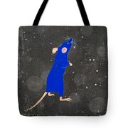 Blue Mouse Tote Bag