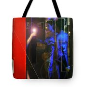 Blue Muses Tote Bag