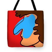Blue Nose Tote Bag