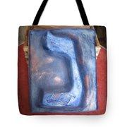 Blue Nun Tote Bag