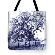 Blue Oak Tote Bag