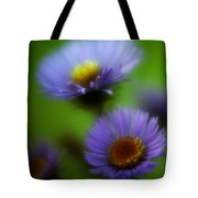 Blue On Green 2 Tote Bag