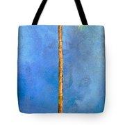 Blue Palm Tote Bag