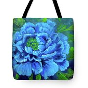 Blue Peony Jenny Lee Discount Tote Bag