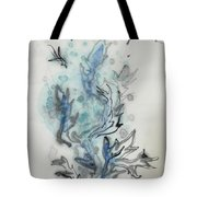 Blue Plant Of Dream Tote Bag