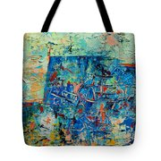 Blue Play 2 Tote Bag