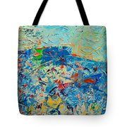 Blue Play 4 Tote Bag