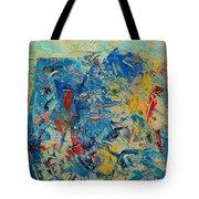 Blue Play 5 Tote Bag