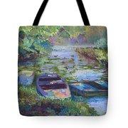 Blue Pond Tote Bag