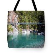 Blue Pools New Zealand Tote Bag
