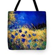 Blue Poppies 459070 Tote Bag