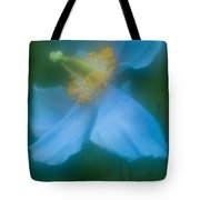Blue Poppy 5 Tote Bag