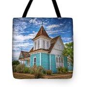 Blue Prairie Church Tote Bag