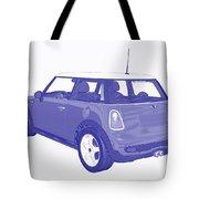 Blue Print Mini Tote Bag
