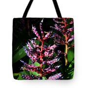 Blue Rain Bromeliad Tote Bag